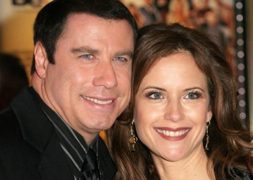 Kelly Preston & John Travolta. Happy Together 22 years