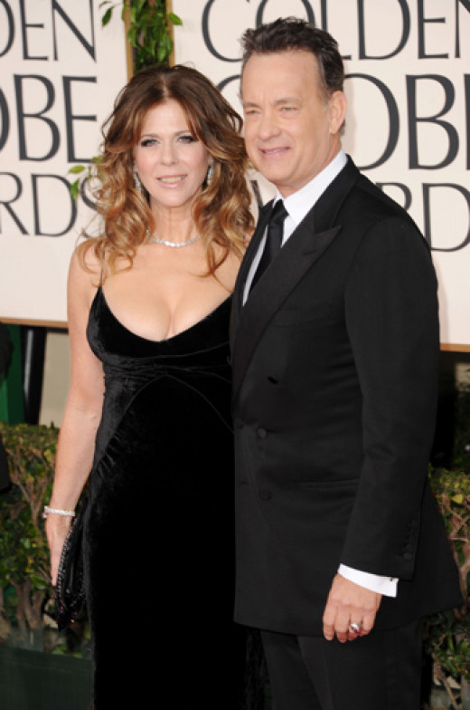 Rita Wilson & Tom Hanks. Happy Together 25 years