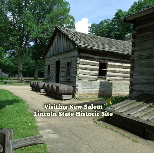 A walk through the New Salem village is like stepping back in time.