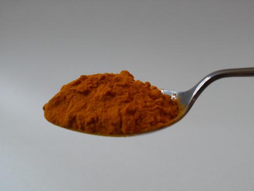 Turmeric spice helps relieve seasonal allergies