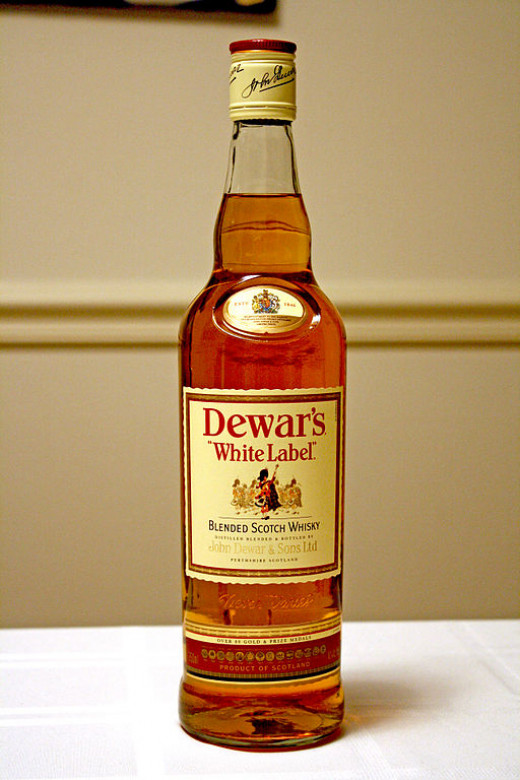 Dewars... you could do worse.