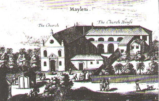 A Church in Mylitty, a village in Jaffna