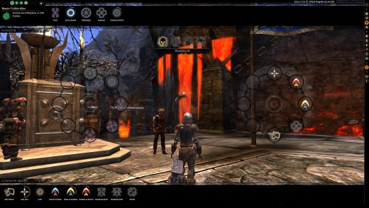 Skills are more accessible in Darkfall Unholy Wars.