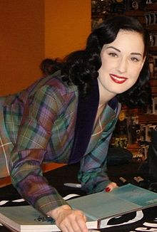 """Dita Von Teese: play by your own rules and make sure you feel """"divine"""""""