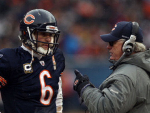 Cutler and Mike Martz