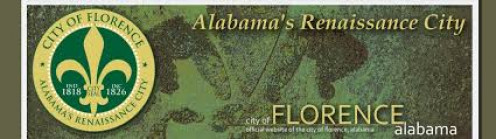 Florence, Alabama is an older city with a large historical backdrop.