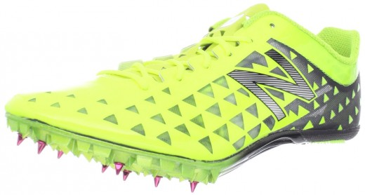 Yellow Spiked Shoes