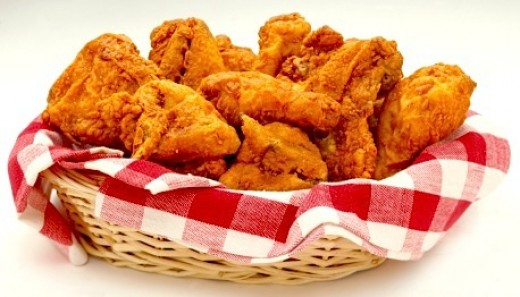 Fried to perfection chicken