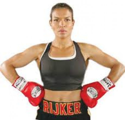 Lucia Rijker retired undefeated from the ring. Her skills were very smooth and she had excellent ring generalship.