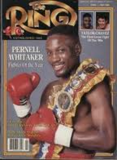 Pernell Whitaker won the gold medal in the 1984 Olympics. He also had a successful professional career.