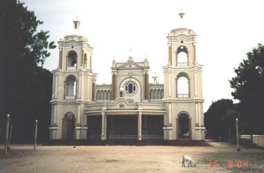 St.James Church, in Jaffna Town.