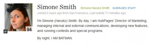 Simone Smith's soon to be HP retired profile, unless she decides to keep it, we shall see folks :) We love you Simone, you are super awesome!