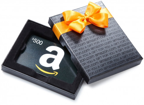 This Amazon.com Gift Card even comes with its own box, making it look like a gift-wrapped present especially for your Father.
