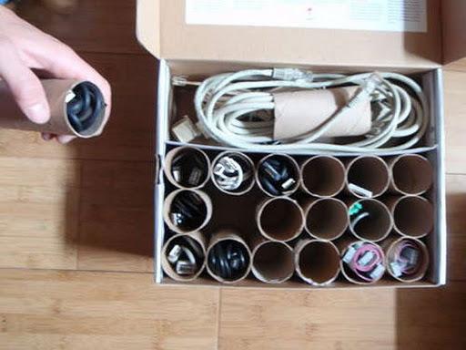 Arrange the cords