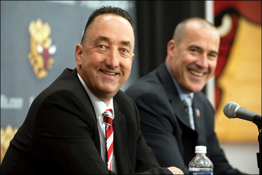 Gar Forman and John Paxson