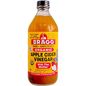 Bragg Organic Apple Cider Vinegar.