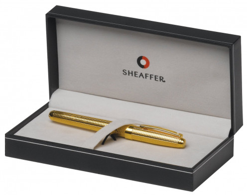 What do you think of this Sheaffer Prelude Signature 22K Gold Plate with Engraved Diamond Square Trim Fountain Pen?