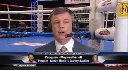 Teddy Atlas is a famous trainer and a commentator for ESPN Friday Night Fights.