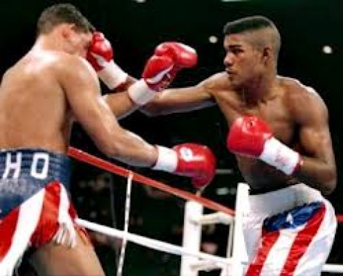 Hector Camacho lost. 12 round decision in a bid to win the welterweight crown from Felix Trinidad.