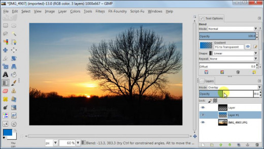 Fig. 4  How to post process your sunset images in GIMP 2.8