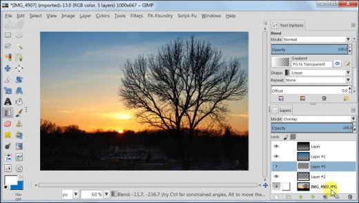 Fig. 6  How to post process your sunset images in GIMP 2.8