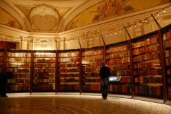 Thomas Jefferson's Library at the Library of Congress in Washington, DC