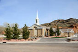 Mormon Church in Gunlock, Utah