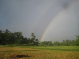Double rainbow effect (Photo Source: Ireno Alcala)