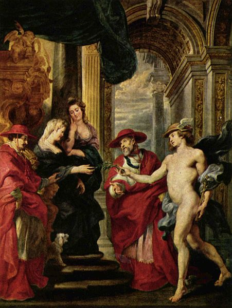 Mercury, a painting by Peter Paul Rubens