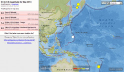 Earthquake Weather Report for May-June 2013