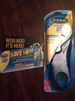 Dr. Scholl's Massaging Gel Insoles review!