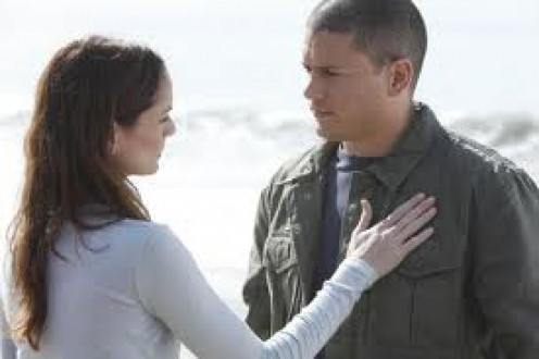 Sara Tancredi and Michael Scofield were complete opposites but, fell in love anyway.  He was an inmate at Fox River and she was a Doctor at Fox River.