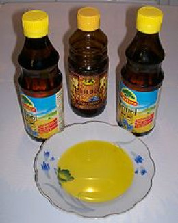 Linseed or flaxseed oil