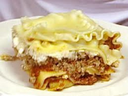 Lasagna is a great Italian dish. Lasagna takes a while to cook but when properly prepared Lasagna can be a delicious treat.