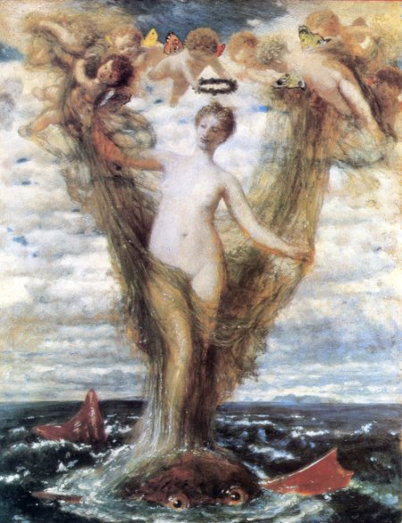 Venere Anadiomene by Arnold Böcklin