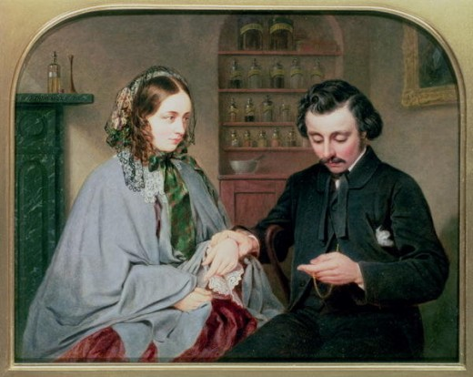 The Doctor, Arthur Miles c.1860