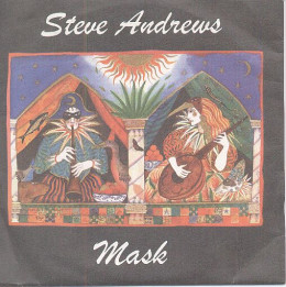 Sleeve of MASK EP on Pink Lemon Records