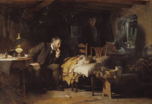 'The Doctor' Sir Luke Fildes 1891
