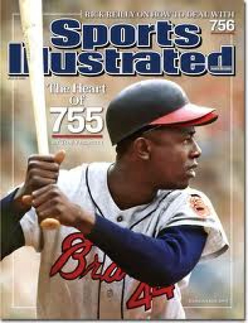Hank Aaron of Alabama was a baseball player who broke the home run record in the MLB.