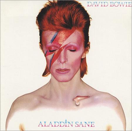 Bowie in crazy makeup