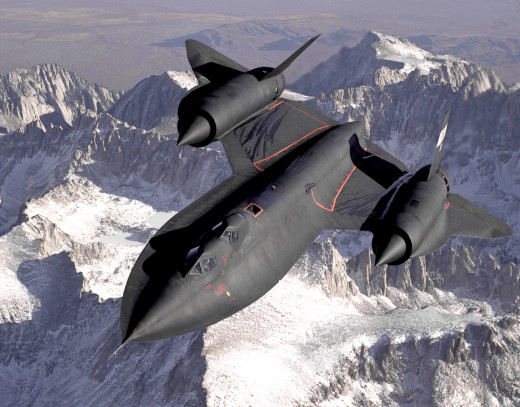 The SR-71 used titanium for 85% of its airframe