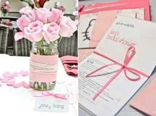 Pink Bridal Shower Theme
