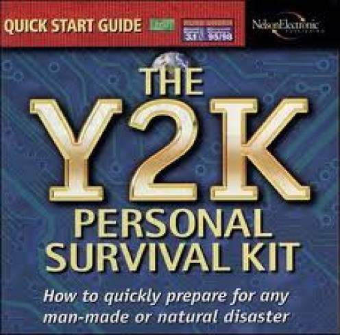 Y2K had many survival kits for sale all over America. Kits included batteries, flashlights and medical supplies.