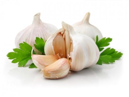 Raw garlic helps both