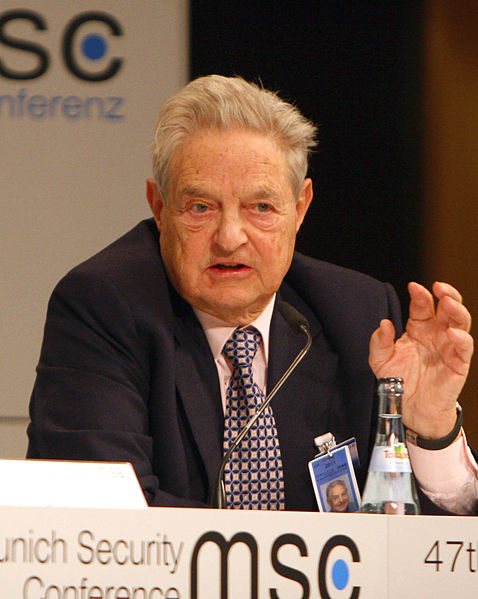 Soros has given the vast majority of his wealth away. He also predicted the financial crash of 2008.