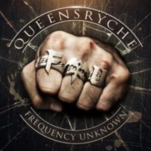 """Queensryche - """"Frequency Unknown"""" album cover"""