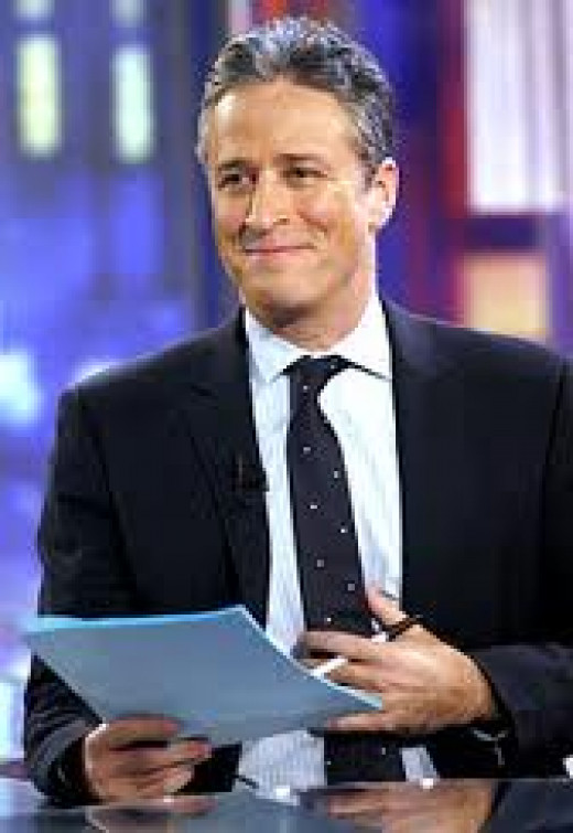 The Daily Show features John Stewart and it pokes fun at Politics and other social issues of the week.