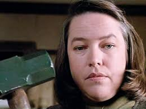 Kathy Bates stars in the Stephen King film called Misery. And by all accounts she causes misery throughout the film on a writer played by James Caan.