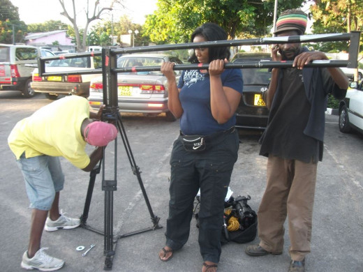 Zimbabwean filmmakers. Talent, skill and dedication that needs to be rewarded more! Picture copyright, 2013, Tariro Productions/Oriit Films Ltd