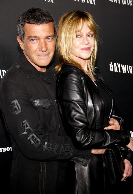 Melanie Griffith & Antonio Banderas. Happy Together 17 years